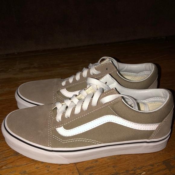 Vans Shoes   Taupe Old Skool Vans